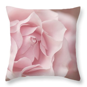 Touch Of Love Throw Pillow by Kim Hojnacki