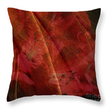Throw Pillow featuring the photograph Touch Of The Orient by Liz  Alderdice