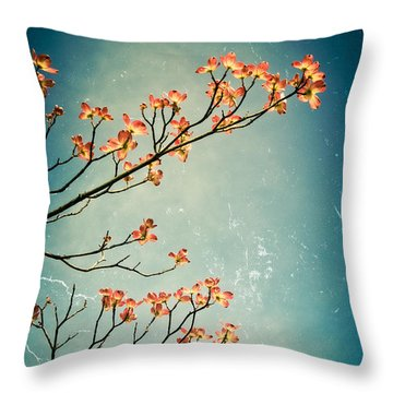 Touch The Sky Throw Pillow by Colleen Kammerer