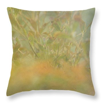 Touches Of Fall Throw Pillow