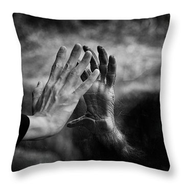 Orangutan Throw Pillows