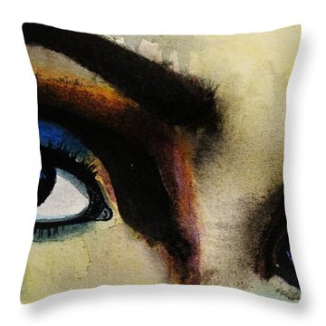 Tougher Than You Think 4 Throw Pillow by Michael Cross