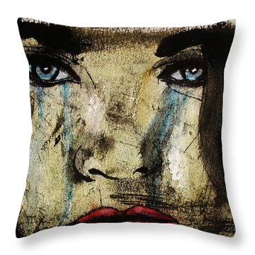Tougher Than You Think 5 Throw Pillow by Michael Cross