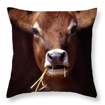 Toupee Throw Pillow