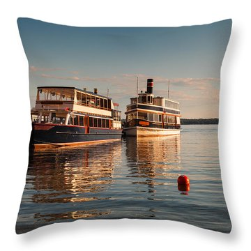 Lake Geneva Throw Pillows