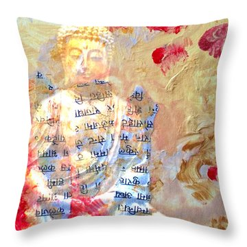 Toward Transendence II Throw Pillow by Ann Tracy