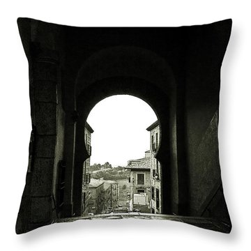 Towards Freedom Throw Pillow by Syed Aqueel