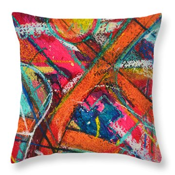 Towards Light Throw Pillow by Ana Maria Edulescu