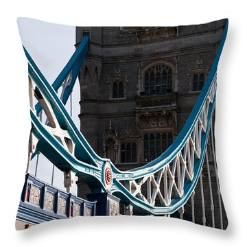 Tower Bridge 03 Throw Pillow