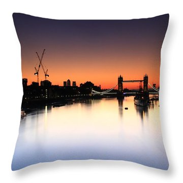 Tower Bridge 2 Throw Pillow