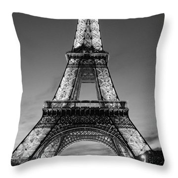 Tower Glow Throw Pillow