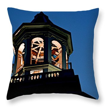 Tower Throw Pillow by Joseph Yarbrough