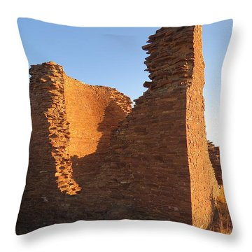 Tower Kiva At Kin Klizhin Throw Pillow by Feva  Fotos
