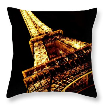 Towering Throw Pillow by Heather Applegate