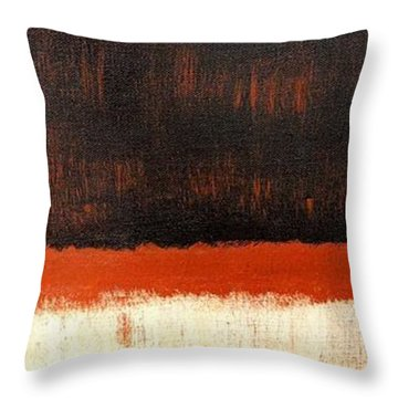 Town Throw Pillow by Sue McElligott