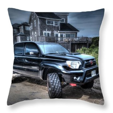Toyota Tacoma Trd Truck Throw Pillow