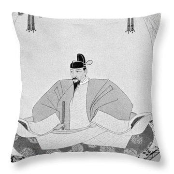 Toyotomi Hideyoshi (1536-1598) Throw Pillow