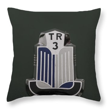 Tr3 Hood Ornament 2 Throw Pillow