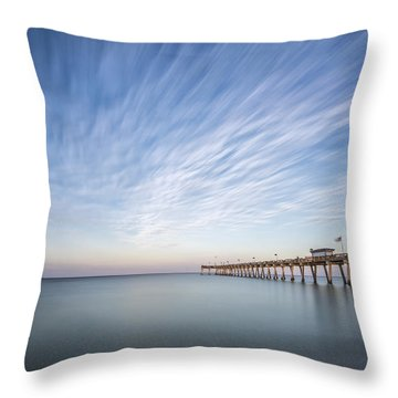 Tracking The Sky Throw Pillow