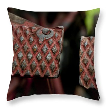 Tractor Pedals Throw Pillow