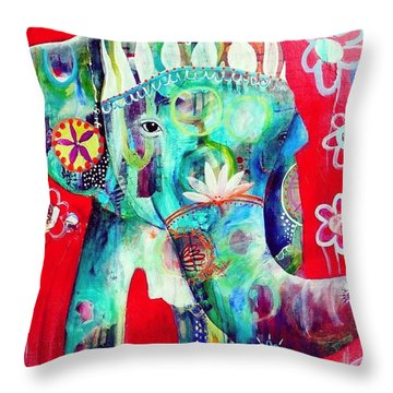 Bringer Of Joy. 2013 Throw Pillow