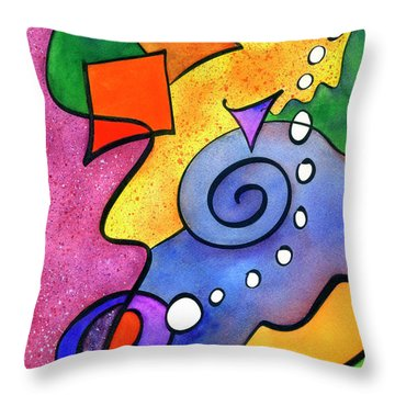 Tradewinds Throw Pillow by Diane Thornton