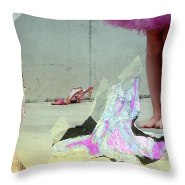Tradition Honoured Throw Pillow by Lesley Fletcher
