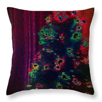 Traditional Christmas Throw Pillow