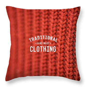 Throw Pillow featuring the digital art Traditional Clothing by Mike Taylor