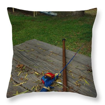 Traditions Of Yesterday Throw Pillow by Peter Piatt