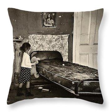 Tragedy Within  Throw Pillow
