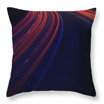 Trail Blazing Throw Pillow