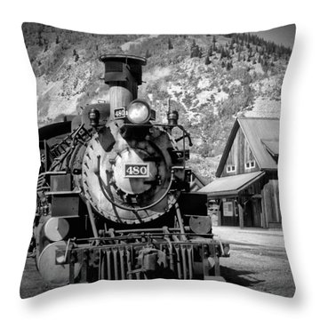 Train 480 Throw Pillow