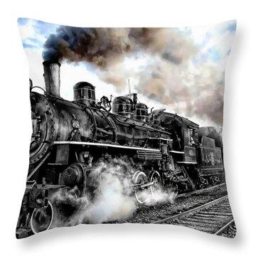 Train I Throw Pillow
