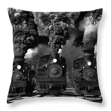 Locomotive Throw Pillows