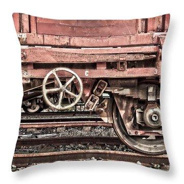 Train Wagon Throw Pillow