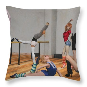 Training Throw Pillow