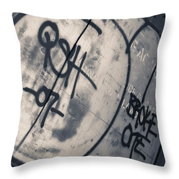 Trains 14 Throw Pillow by Niels Nielsen