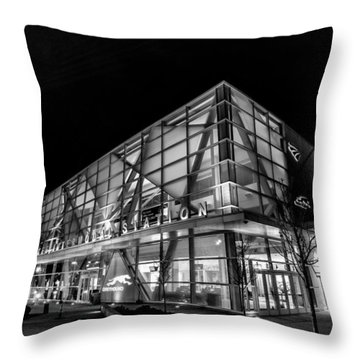 Trains And Buses Throw Pillow