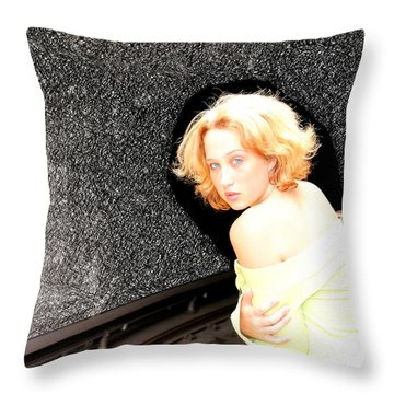 Trance Throw Pillow