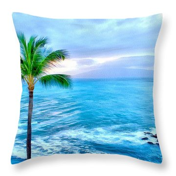 Tranquil Escape Throw Pillow