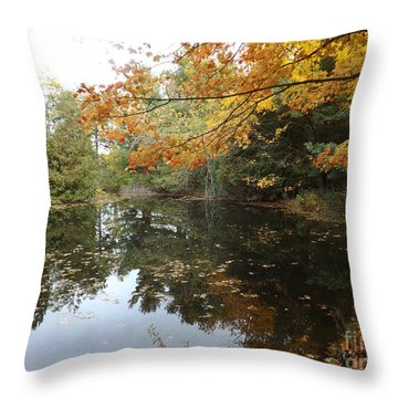 Throw Pillow featuring the photograph Tranquil Getaway by Brenda Brown