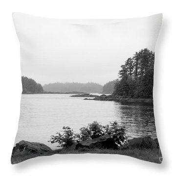 Throw Pillow featuring the photograph Tranquil Harbor by Victoria Harrington