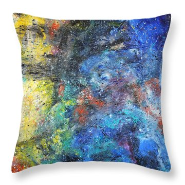 Tranquility 2 Throw Pillow
