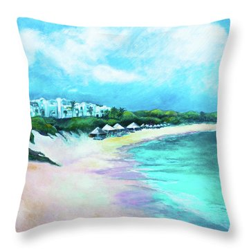 Tranquility Anguilla Throw Pillow