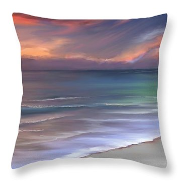 Throw Pillow featuring the photograph Tranquility by Anthony Fishburne