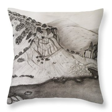 Tranquility Throw Pillow by Augusta Stylianou