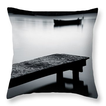 Tranquility Throw Pillow by Dave Bowman