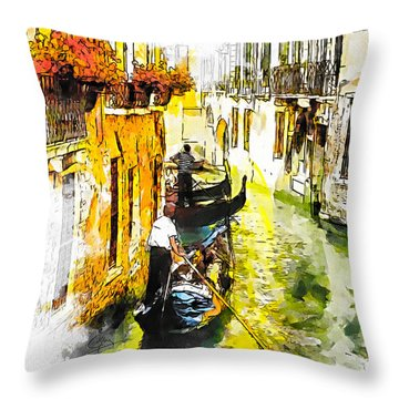 Tranquillity Throw Pillow by Greg Collins