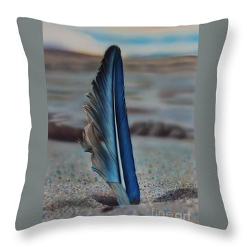 Tranquility Throw Pillow by Jackie Mestrom